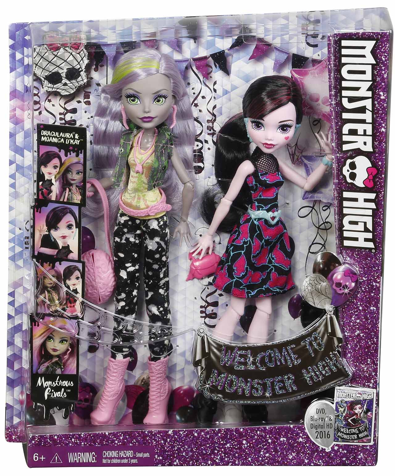Mattel Monster High MONSTRÓZNÍ RIVALOVÉ