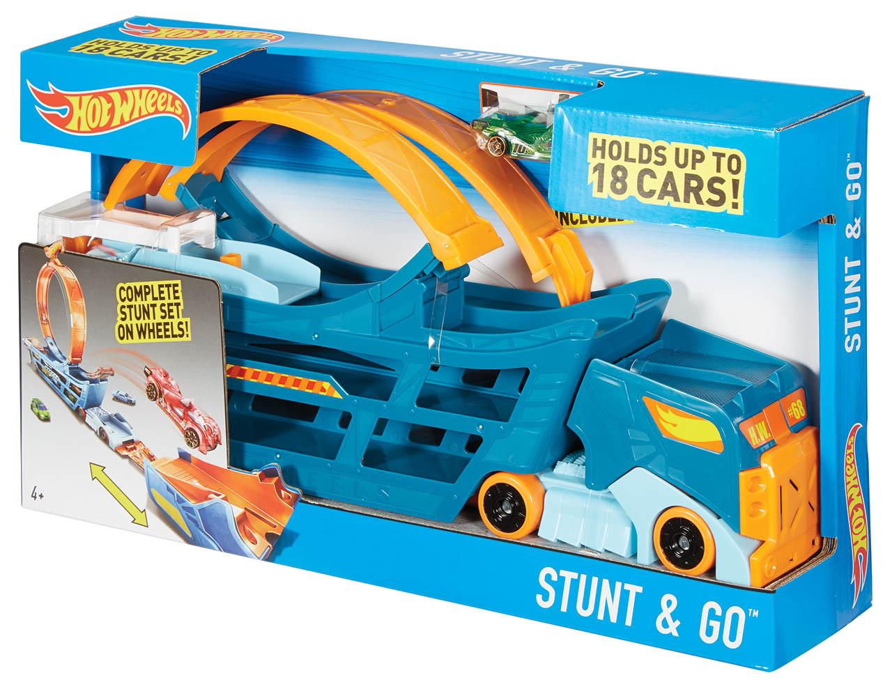 Mattel Hot Wheels TAHAČ A POJÍZDNÁ DRÁHA