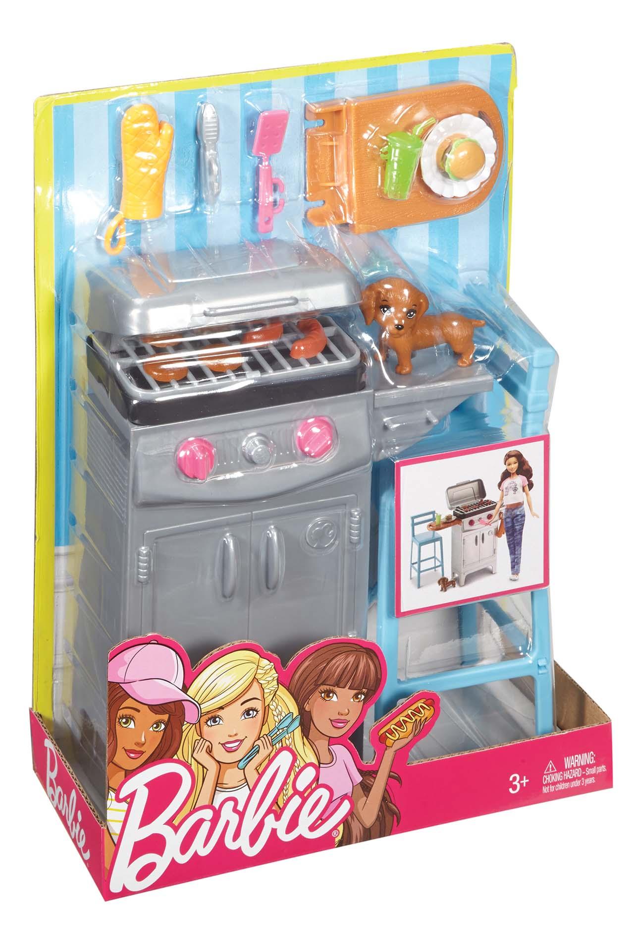 Mattel Barbie NÁBYTEK A DOPLŇKY