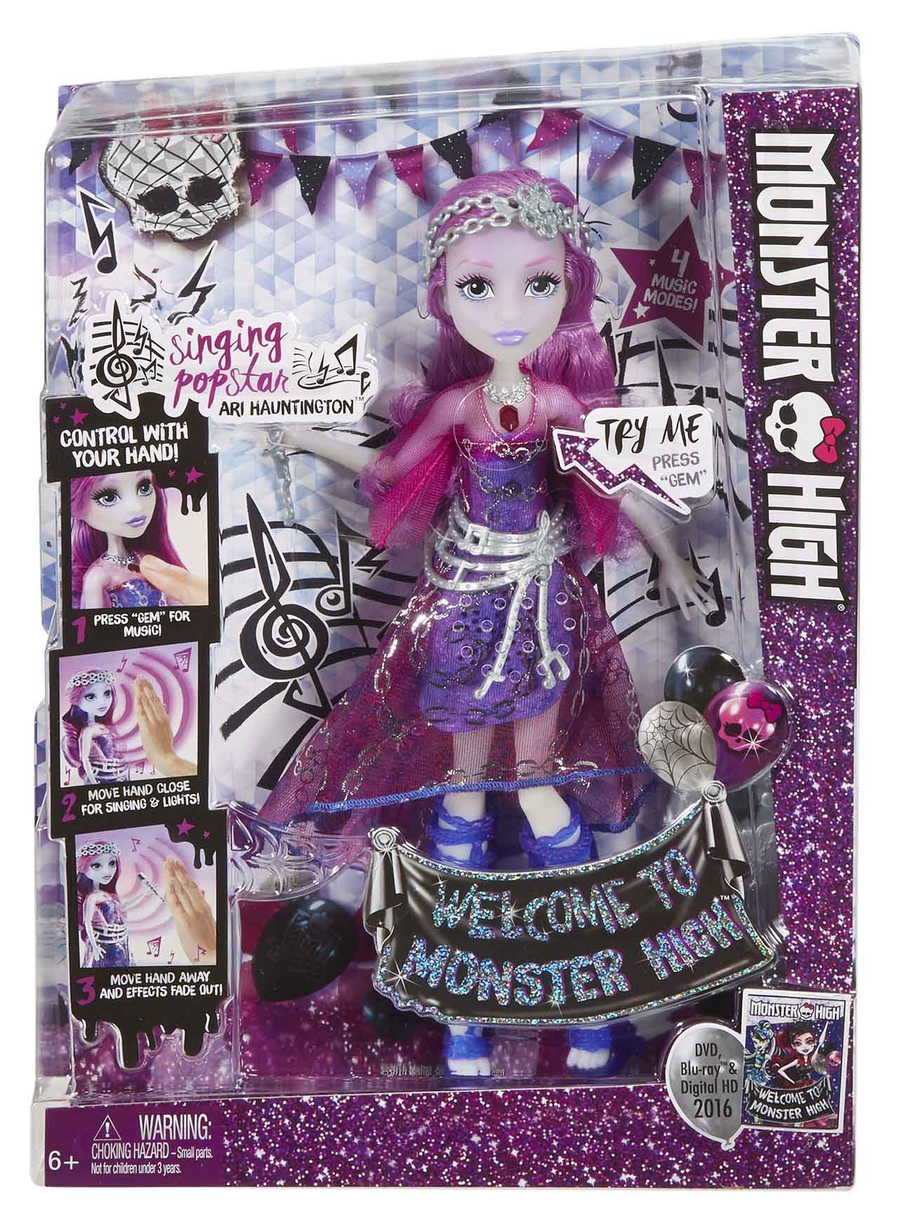 Mattel Monster High ARI HAUNTINGTON