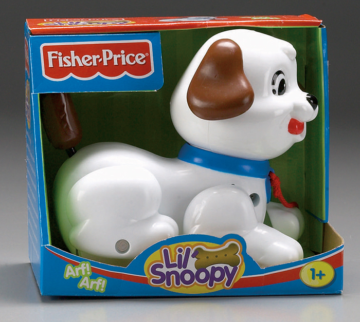 Mattel Fisher-Price Tahací Snoopy