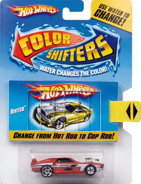 Mattel Hot Wheels Color Shifters