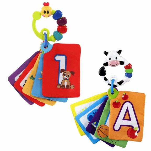 Baby Einstein Karty zábavně-vzdělávací Take Along Discovery Cards™ 0m+