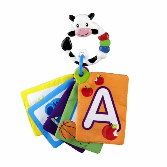 Karty zábavně-vzdělávací Take Along Discovery Cards™ písmená 0m+