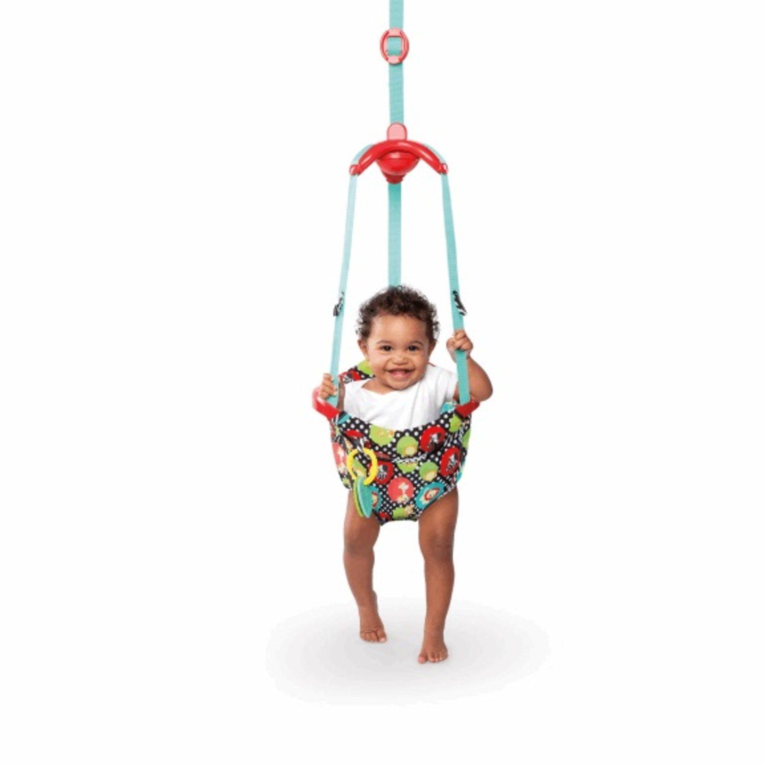 Bright Starts Hopsadlo do dveří Roaming Safari 6m+, do 11kg 2016 Akční cena