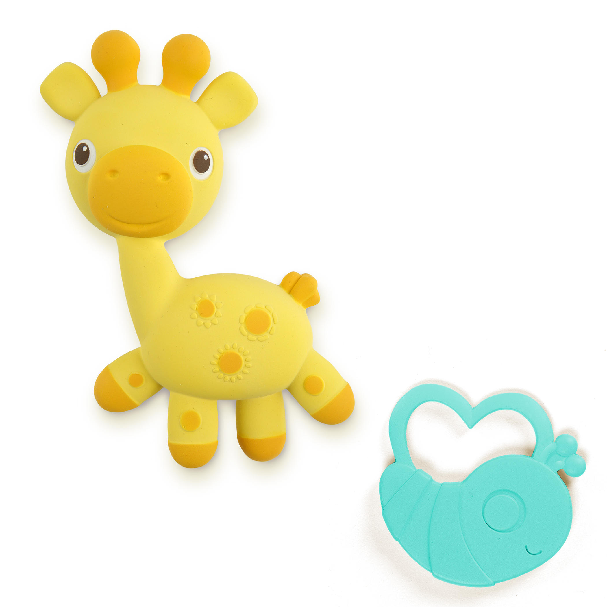 Kousátko žirafka+brouček Soothimals™ 0m+
