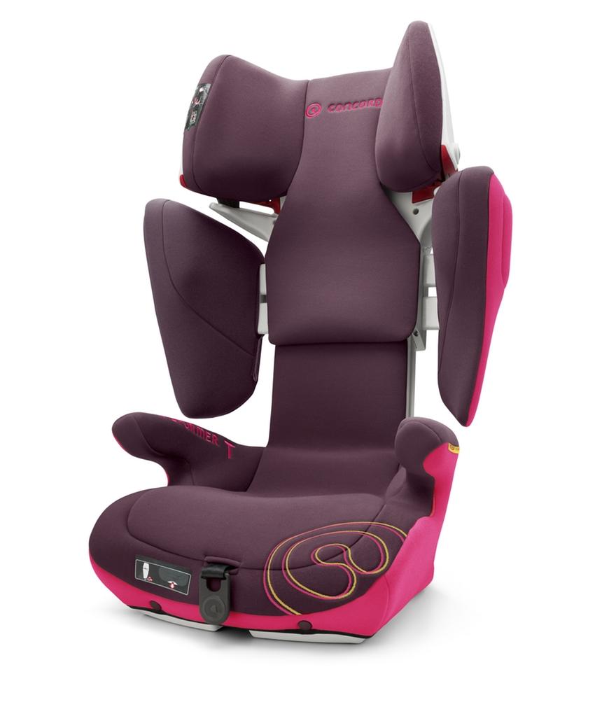 Autosedačka Transformer T Rose Pink 15-36kg 2017