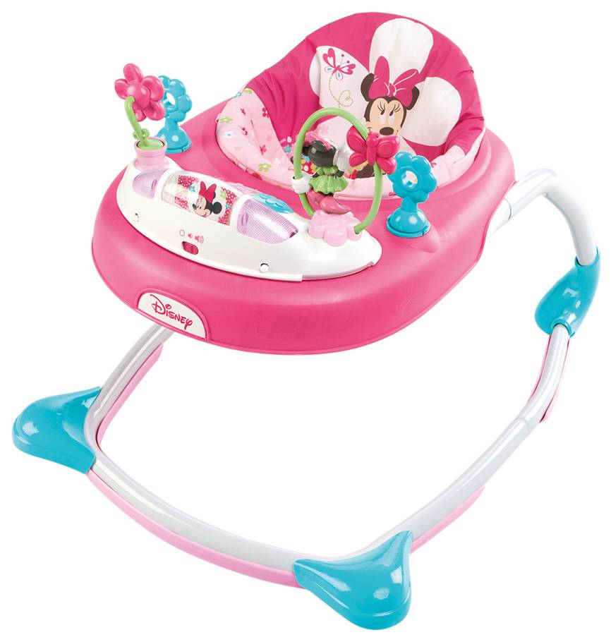 Disney baby Chodítko Minnie Mouse Bows & Butterflies Walker 6m +, 11kg