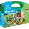 PLAYMOBIL® 9104 Přenosný kufřík Králíkárna