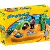 PLAYMOBIL® 9119 Pirátský ostrov (1.2.3)