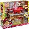 Barbie vaření a pečení pizza herní set s panenkou