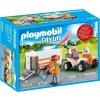 PLAYMOBIL® 70053 Čtyřkolka se záchranářským přívěsem