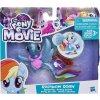 My Little Pony Mořský poník s doplňkem a pohyblivým ocáskem Rainbow Dash