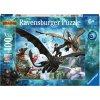 Ravensburger 10955 Puzzle Jak vycvičit Draka 3, 100 dílků