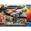 Ravensburger 10015 Puzzle Jak vycvičit Draka - dračí letka XXL 150d.