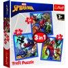 Puzzle Disney Marvel Spiderman 3v1
