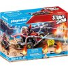 PLAYMOBIL 70554 StuntShow Hasičská motokára