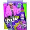 Barbie extra v růžové bundě