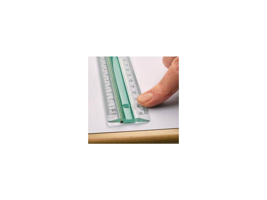 Linex, protišmykové pravítko 30 cm