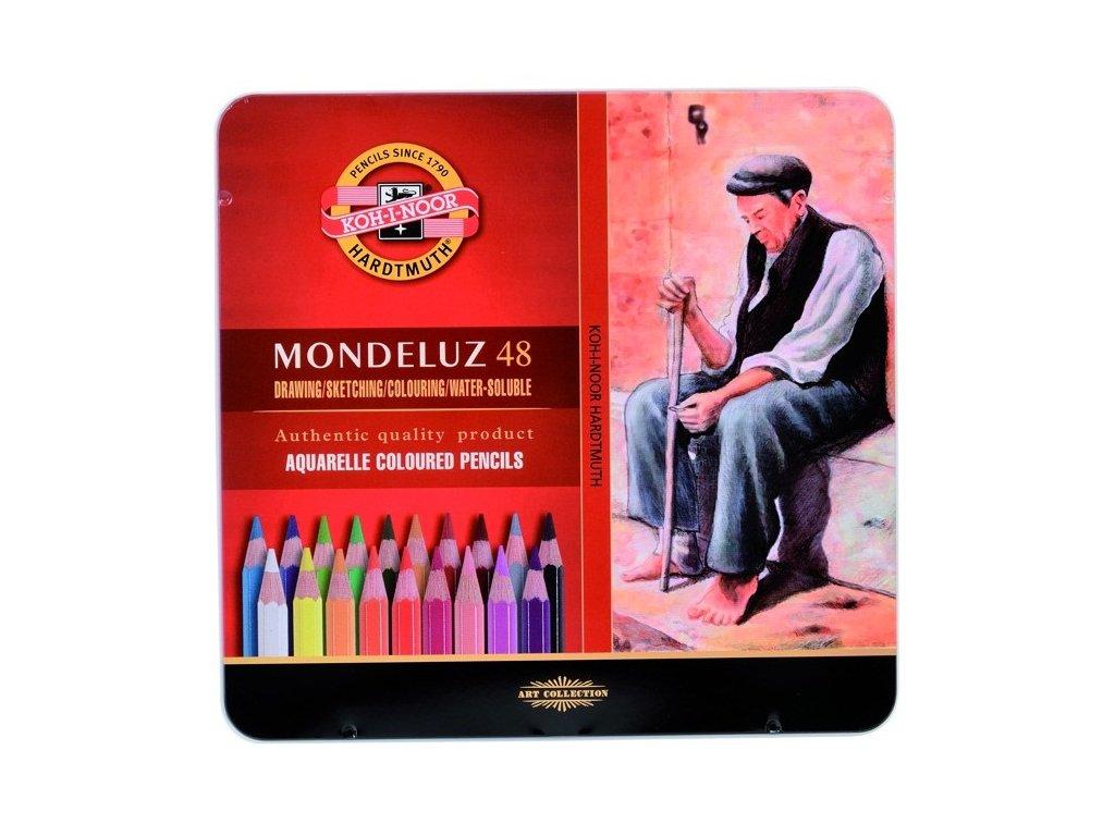 103716 koh i noor mondeluz umelecke akvarelove pastelove ceruzky 3726 48 ks v sade