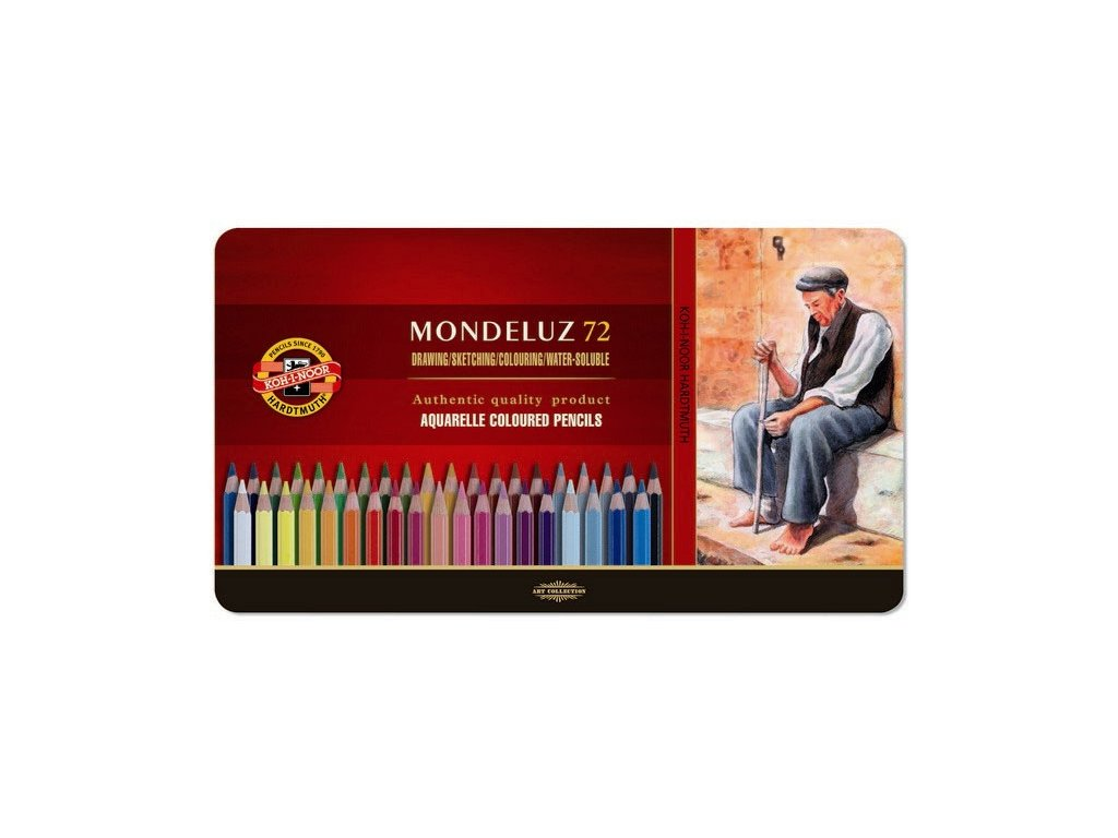 103719 koh i noor mondeluz 3727 72 ks sada umelecke akvarelove pastelove ceruzky