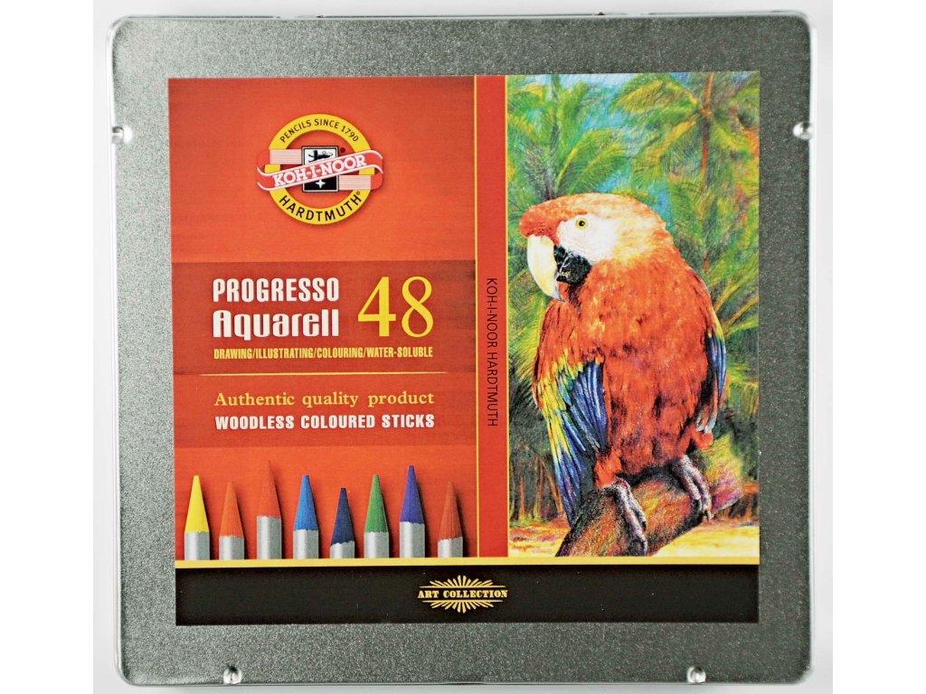 103791 koh i noor akvarelove pastelky progress aquarella 8786 48 ks v sade
