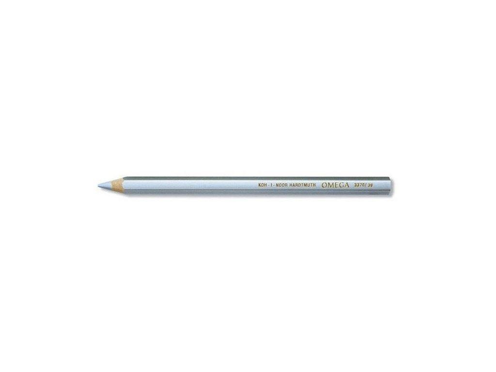 103836 koh i noor omega jumbo pastelova ceruzka 3370 strieborna