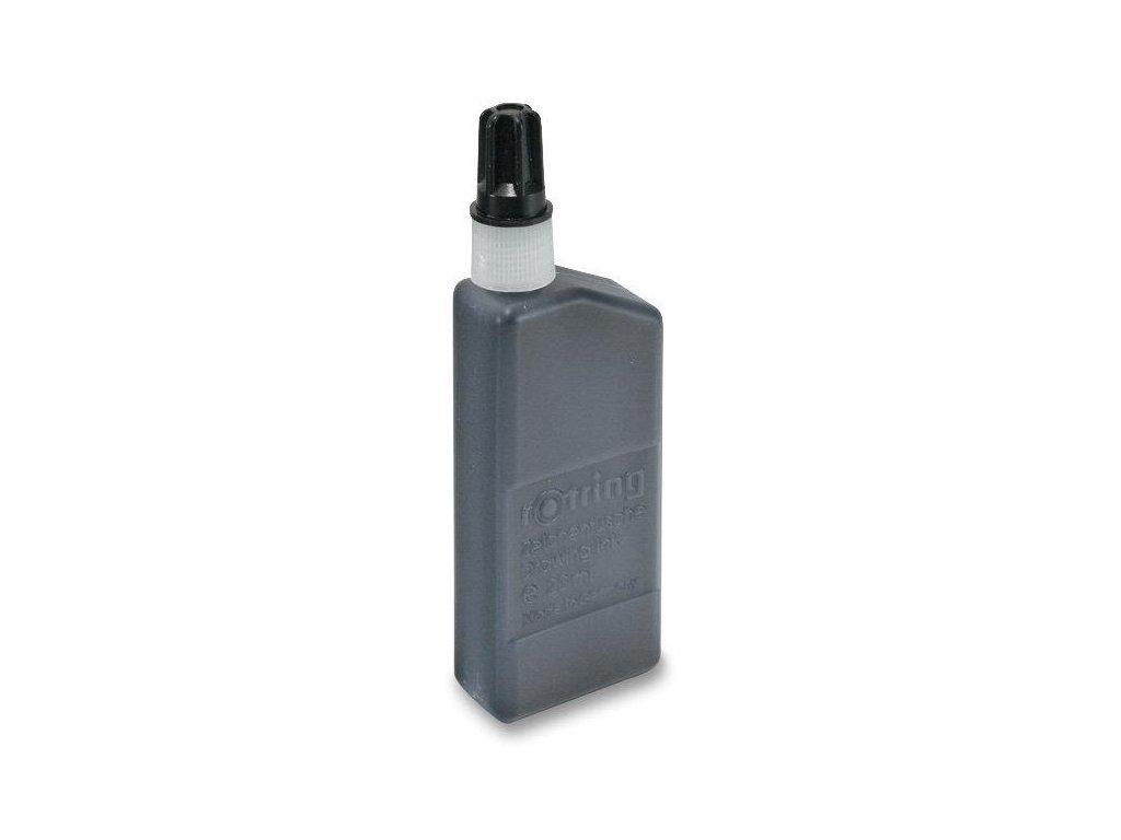 Rotring, čierna tuš technická, 23 ml.