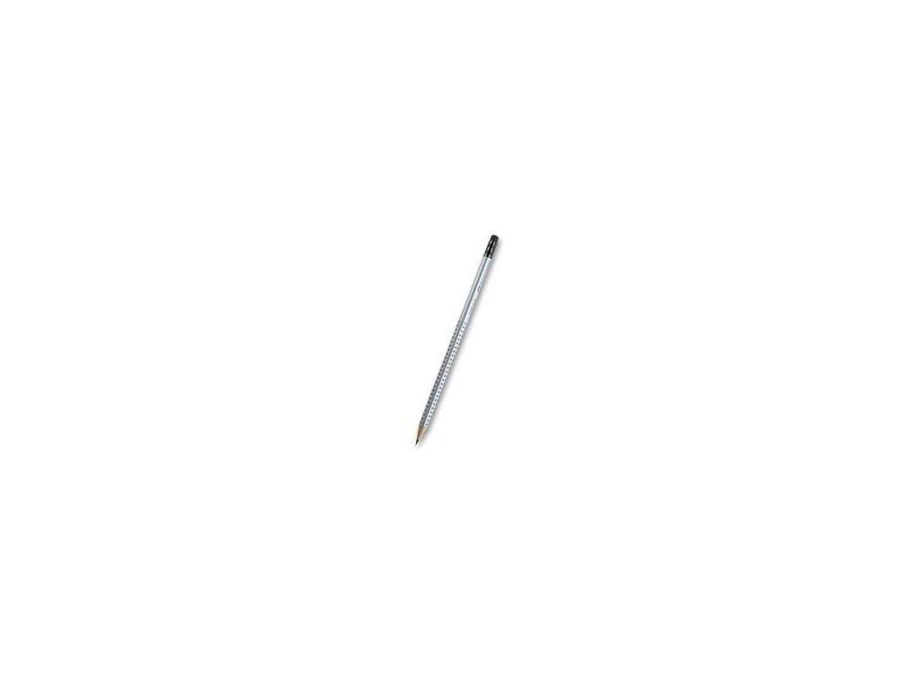 Faber-Castell, drevená ceruzka HB s gumou, GRIP 2001