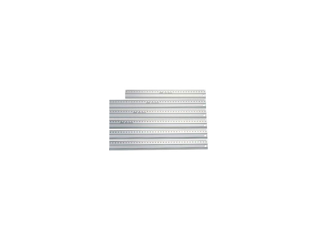 Linex, hliníkové rezacie pravítko 60 cm, 1960