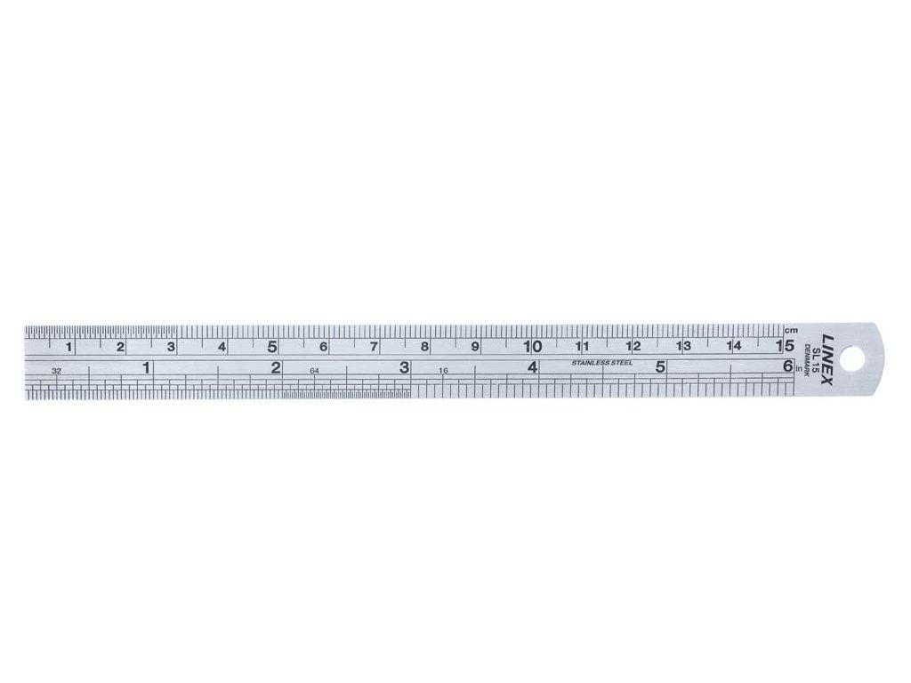 Linex, oceľové pravítko 30 cm, SL 30