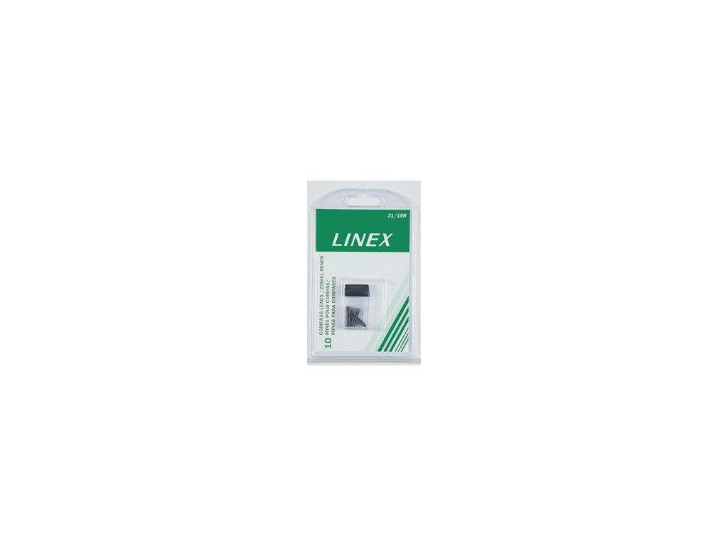 Linex, 10 x náhradné tuha do kružidla