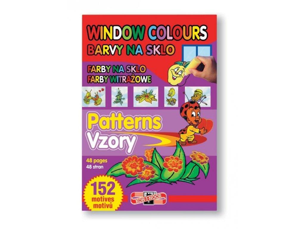 104445 koh i noor sablona vzory pre zlupovacie farby 152 motivov