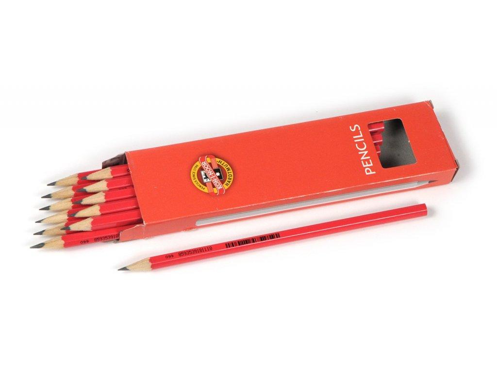 Koh-i-noor, školské ceruzka 1703, 12 ks (Tvrdost Tvrdost č. 4)
