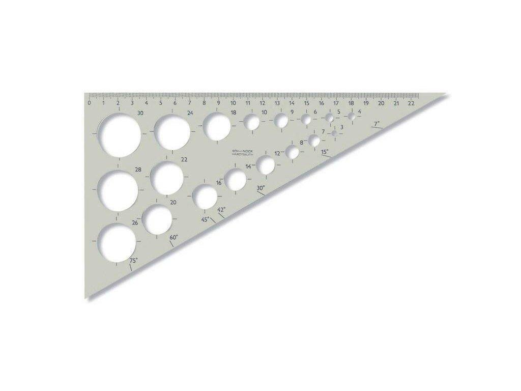 104745 koh i noor trojuholnik 60 250 so sablonou z18