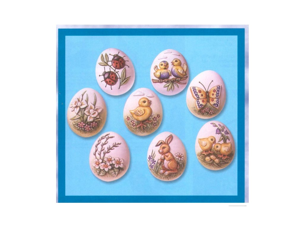 forma na veľkonočné vajíčko, kraslice