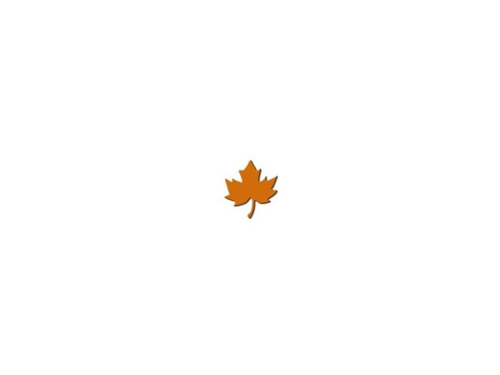 ozdobná strednej výseková dierovač Javorový list