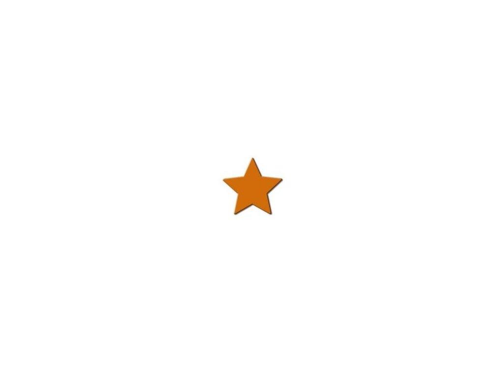 ozdobná strednej výseková dierovač Hviezda