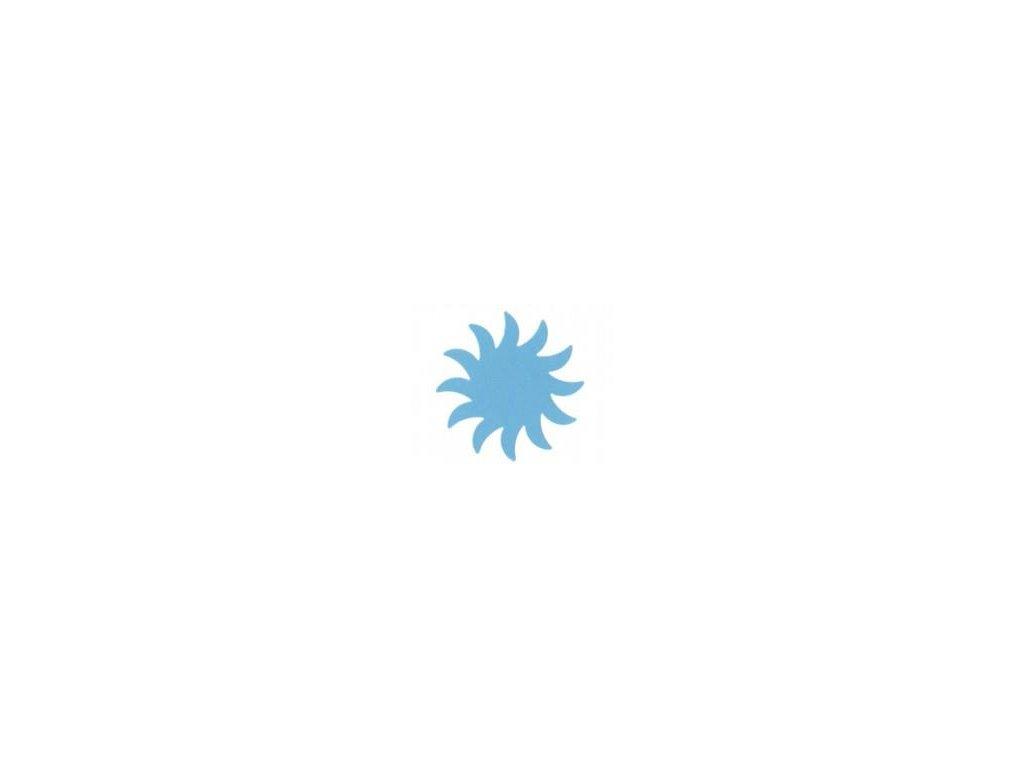 ozdobná veľká výseková dierovač Slnka