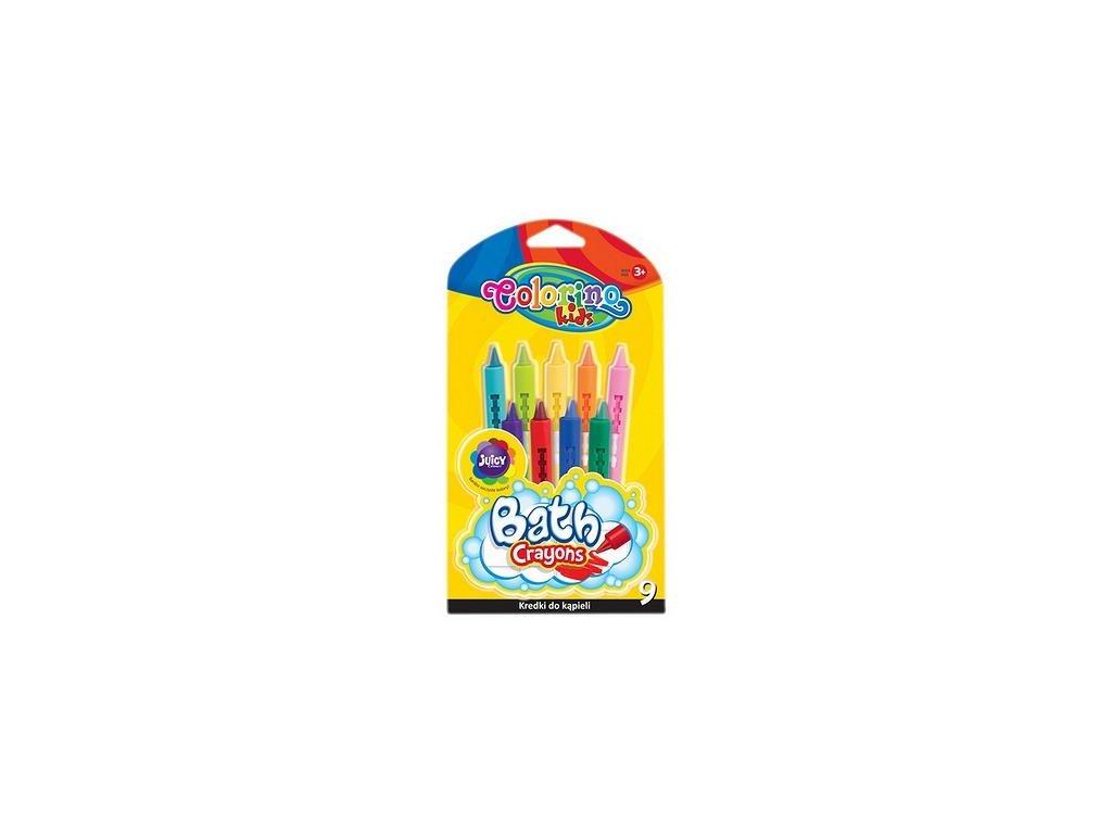 Colorino, voskovky do vane, 9 farieb