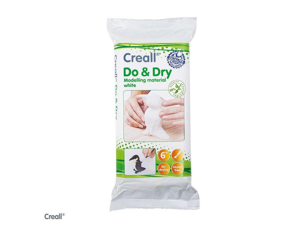 Creall, biela modelovacia hmota DO & DRY, 1 kg