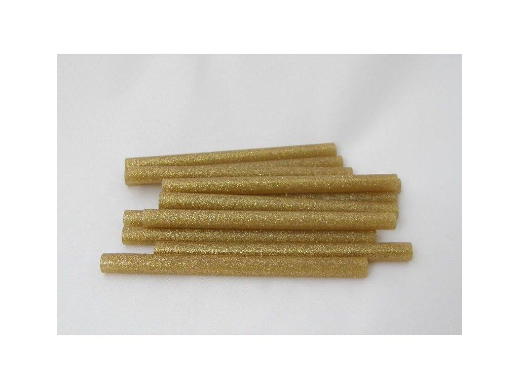 žlté s glitrami tavnej tyčinky 7,5 mmx10 cm