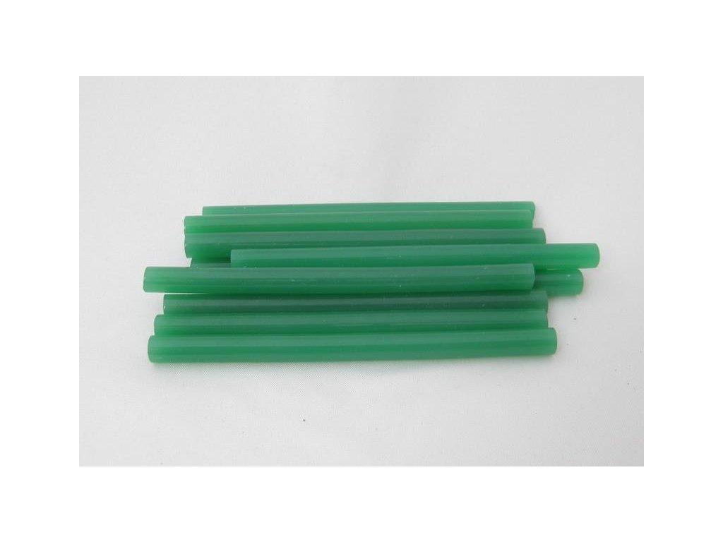 zelené tavné tyčinky 7,5 mmx10 cm