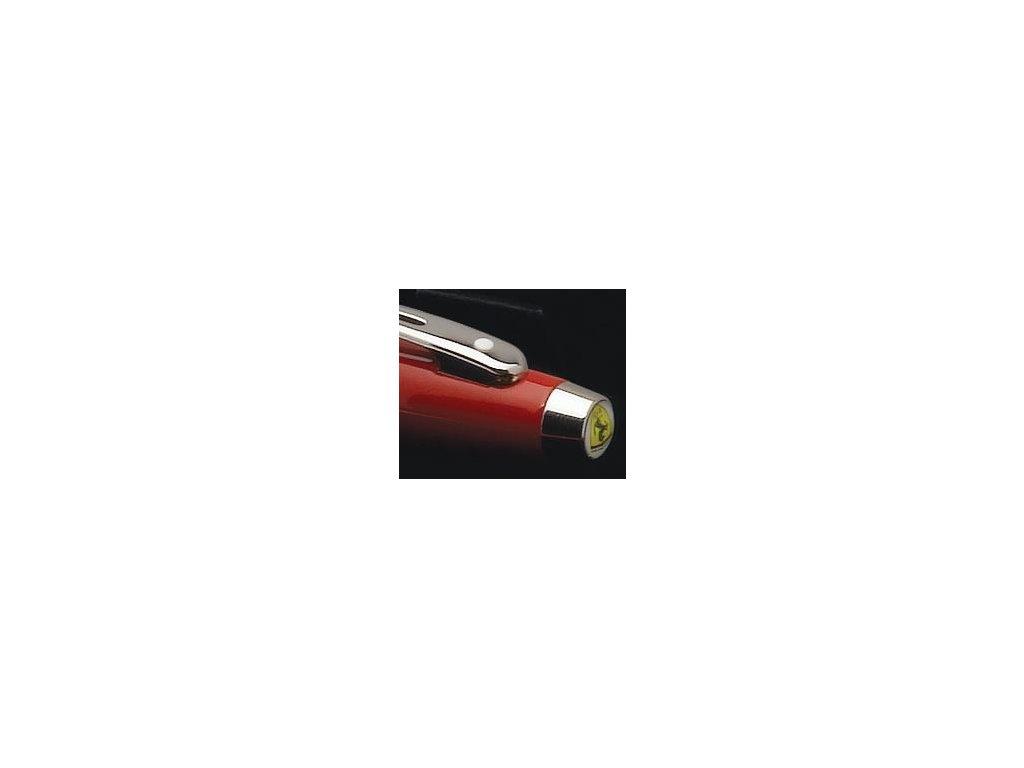 """Sheaffer, """"100"""" Ferrari červené plniace pero"""