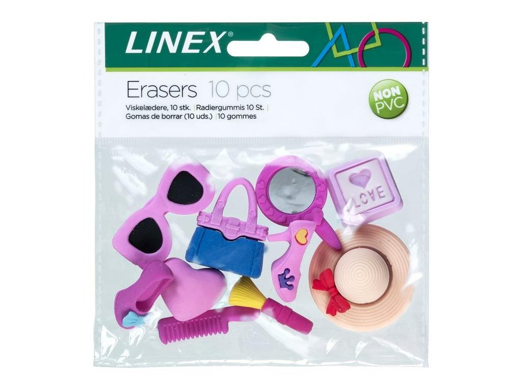 Linex, guma v darčekovom balení