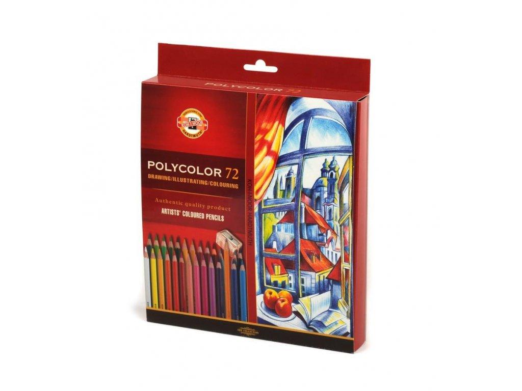 105936 koh i noor sada umeleckych pasteliek polycolor 72 72 ks