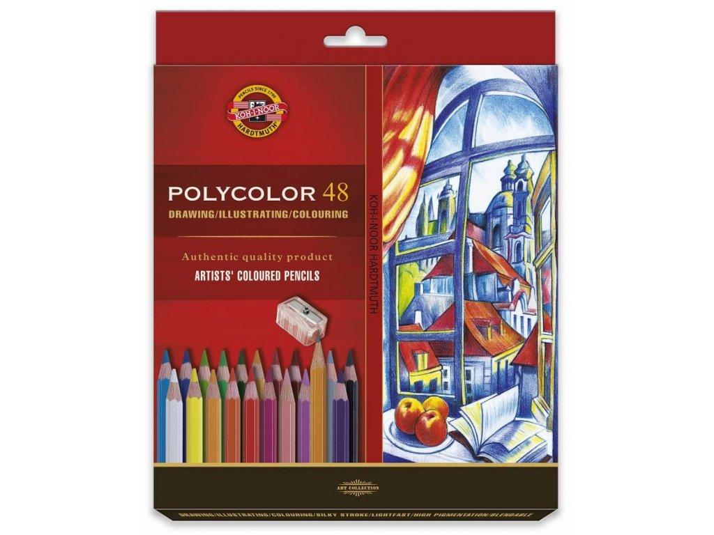106239 koh i noor sada umeleckych pasteliek polycolor 48 48 ks