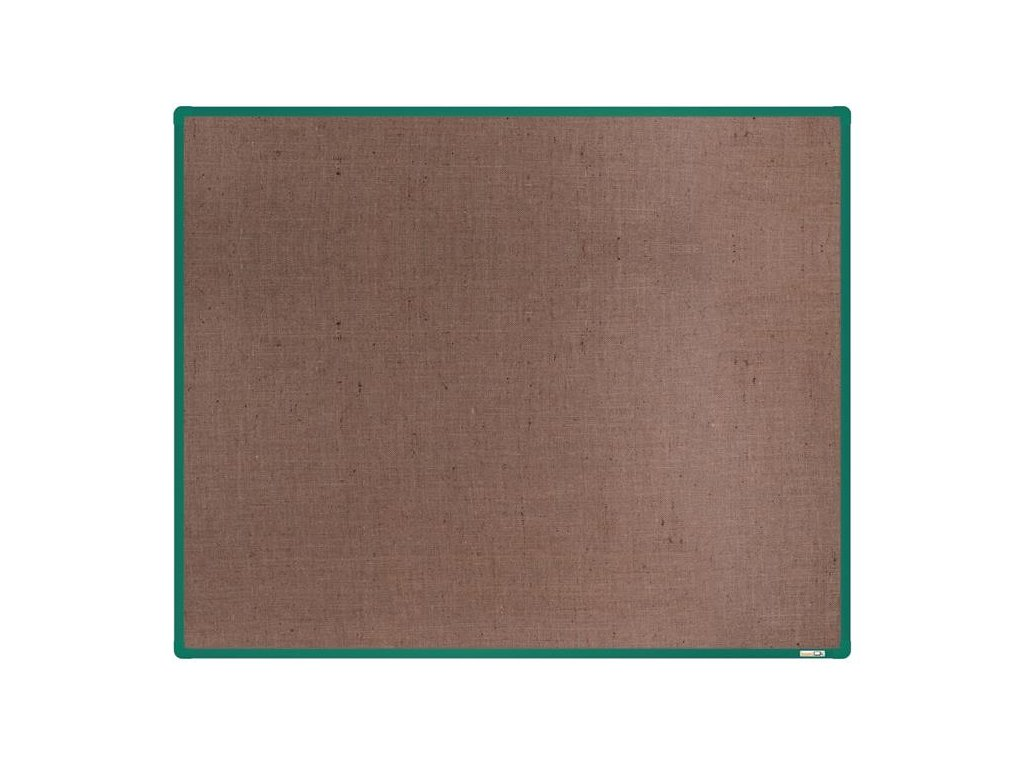 BoardOK, nástenka s textilným povrchom, 150x120 cm, zelený rám