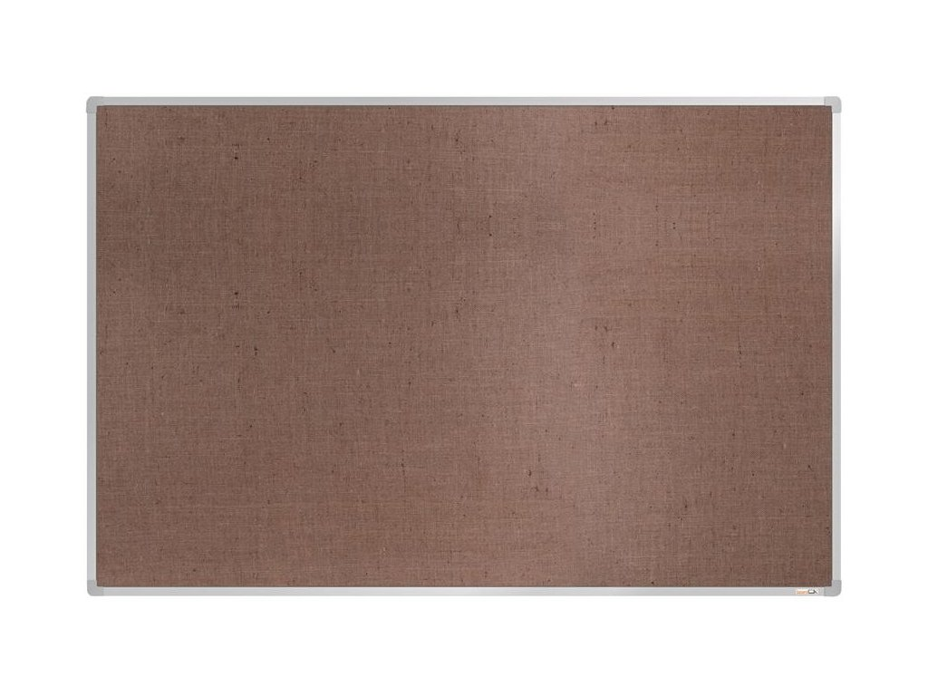 BoardOK, nástenka s textilným povrchom, 180x120 cm, strieborný rám
