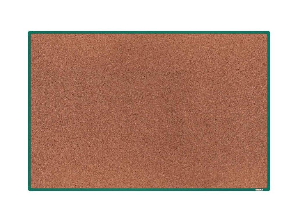 BoardOK, korková nástenka 180x120 cm, zelený rám